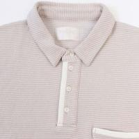TROVE / トローブ SEA FOREST POLO (GREYBEIGE)